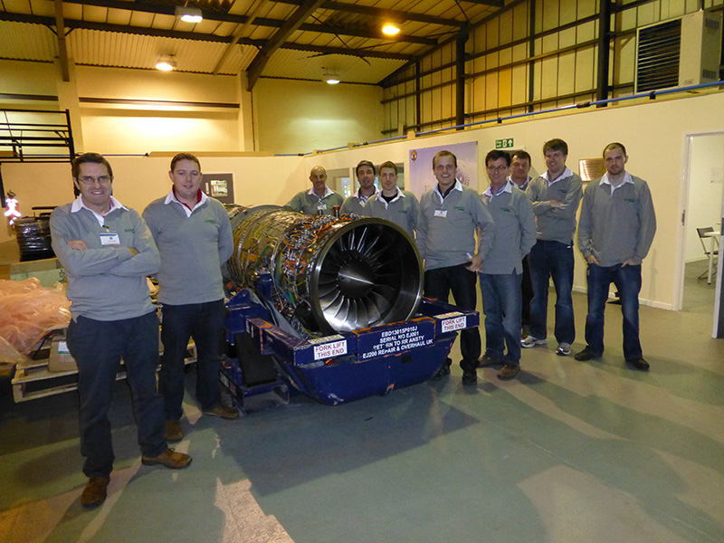 Somex team visits Bloodhound