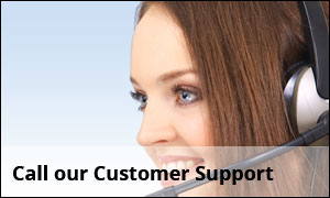 Call our Customer Support