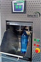 Delta Hi-E Ramp Pressure Tester for PET bottles & containers