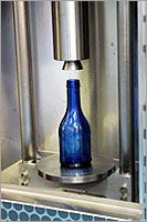 Delta TLT, Vertical Top Load Tester for Glass bottles & containers