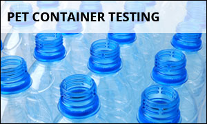 PET Container Testing